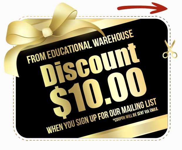 GET A $10 GIFT CARD (Educational Warehouse)